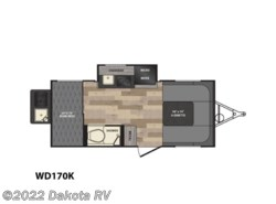 New 2017  Winnebago Winnie Drop WD170K by Winnebago from Dakota RV in Rapid City, SD