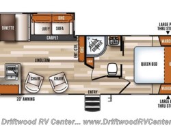 New 2017  Forest River Vibe 268RKS by Forest River from Driftwood RV Center in Clermont, NJ