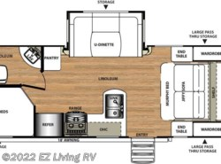 New 2017  Forest River Salem Hemisphere Lite 24BH by Forest River from EZ Living RV in Braidwood, IL