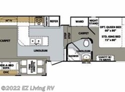Used 2012  Forest River Cardinal 3550RL by Forest River from EZ Living RV in Braidwood, IL