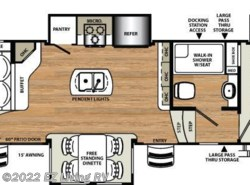 New 2017  Forest River Sandpiper 389RD by Forest River from EZ Living RV in Braidwood, IL