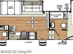 New 2017  Forest River Sandpiper 365SAQB by Forest River from EZ Living RV in Braidwood, IL