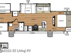 New 2017  Forest River Salem Hemisphere 312QBUD by Forest River from EZ Living RV in Braidwood, IL