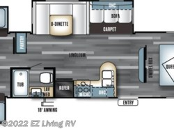New 2017  Forest River Salem 31QBTS by Forest River from EZ Living RV in Braidwood, IL