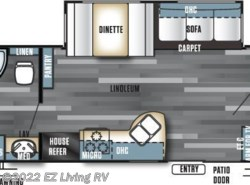 New 2017  Forest River Salem 36BHBS by Forest River from EZ Living RV in Braidwood, IL