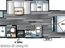 New 2017  Forest River Salem Cruise Lite T273QBXL by Forest River from EZ Living RV in Braidwood, IL