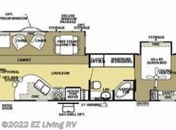 Used 2006  Forest River Salem 392RLDS by Forest River from EZ Living RV in Braidwood, IL