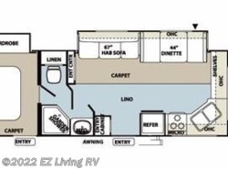 Used 2012  Forest River Flagstaff Super Lite/Classic 26FKWS by Forest River from EZ Living RV in Braidwood, IL