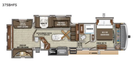 2020 Jayco North Point 375BHFS