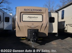 New 2017  Forest River Rockwood Signature Ultra Lite 8293IKRBS by Forest River from Gansen Auto & RV Sales, Inc. in Riceville, IA