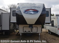 Used 2017  Forest River Sandpiper 377FLIK by Forest River from Gansen Auto & RV Sales, Inc. in Riceville, IA