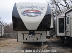 New 2017  Forest River Sandpiper 3275DBOK by Forest River from Gansen Auto & RV Sales, Inc. in Riceville, IA