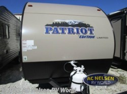 New 2017  Forest River  Patriot Edition 16BHS by Forest River from AC Nelsen RV World in Omaha, NE