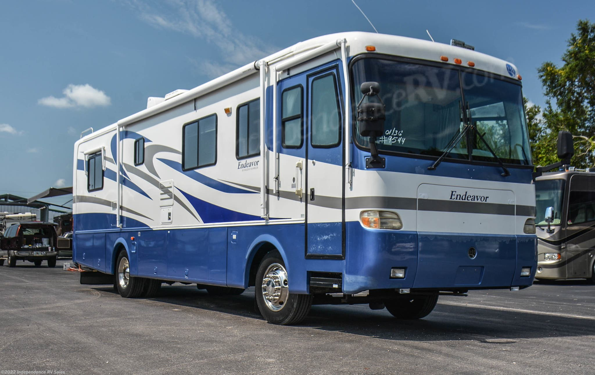Used 2001 Holiday Rambler Endeavor 36PDW, Diesel Pusher, Big Block  Cummins!! Independence RV Sales   Winter Garden, Florida
