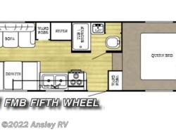 Used 2005  Gulf Stream Ameri-Lite 21FMB by Gulf Stream from Ansley RV in Duncansville, PA