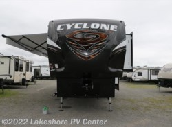 New 2017  Heartland RV Cyclone 4018 by Heartland RV from Lakeshore RV Center in Muskegon, MI