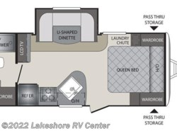 New 2017  Keystone Premier 19FBPR by Keystone from Lakeshore RV Center in Muskegon, MI