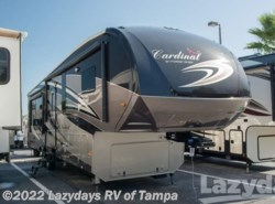Used 2017  Forest River Cardinal 3455RL by Forest River from Lazydays in Seffner, FL