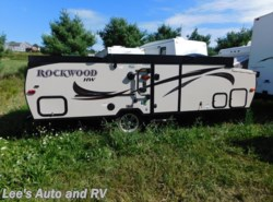 Used 2016  Rockwood  PREMIER SERIES 192A HW by Rockwood from Lee's Auto and RV Ranch in Ellington, CT