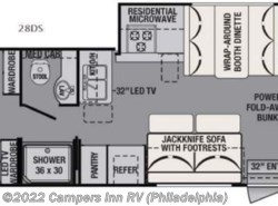 New 2016  Forest River FR3 28DS by Forest River from Campers Inn RV in Hatfield, PA