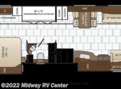 New 2017  Newmar Dutch Star  4326 by Newmar from Midway RV Center in Grand Rapids, MI