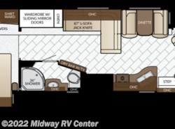 New 2017  Newmar Bay Star  3401 by Newmar from Midway RV Center in Grand Rapids, MI