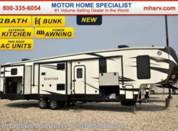 New 2016  Heartland RV ElkRidge 38RSRT Resort Bunk House W/2 Full Baths by Heartland RV from Motor Home Specialist in Alvarado, TX