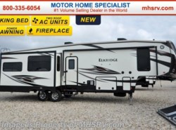 New 2016 Heartland RV ElkRidge 34TSRE W/3 Slides, 2 A/Cs, Fireplace & King Bed available in Alvarado, Texas