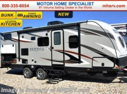 New 2016  Heartland RV Wilderness 2475BH W/Bunks, Pwr Jacks, Pwr Awning, 15.0K A/C by Heartland RV from Motor Home Specialist in Alvarado, TX