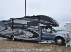 New 2017  Thor Motor Coach Four Winds Super C 35SF Bath & 1/2,  Dsl. Gen, Cabover Ent, FBP by Thor Motor Coach from Motor Home Specialist in Alvarado, TX