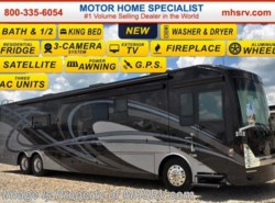 New 2017  Thor Motor Coach Tuscany 45AT Bath & 1/2, Aqua Hot, King, 10K Gen. by Thor Motor Coach from Motor Home Specialist in Alvarado, TX