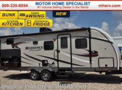 New 2017  Cruiser RV Radiance 24BHDS Touring Ed. Bunk Model RV for Sale W/Ext Ki by Cruiser RV from Motor Home Specialist in Alvarado, TX