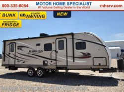 New 2017  Cruiser RV Radiance 28BHSS Touring Edition RV for Sale at MHSRV.com by Cruiser RV from Motor Home Specialist in Alvarado, TX