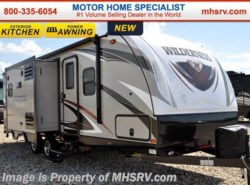 New 2017  Heartland RV Wilderness 2775RB RV for Sale at MHSRV.com W/Ext. Kitchen by Heartland RV from Motor Home Specialist in Alvarado, TX