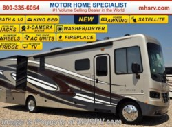 New 2017  Holiday Rambler Vacationer 35K Bath & 1/2, Res Fridge, W/D, 4 TVs, Fireplace by Holiday Rambler from Motor Home Specialist in Alvarado, TX