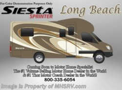 New 2017  Thor Motor Coach Four Winds Siesta Sprinter 24SA Diesel RV for Sale at MHSRV W/ Stabilizers by Thor Motor Coach from Motor Home Specialist in Alvarado, TX