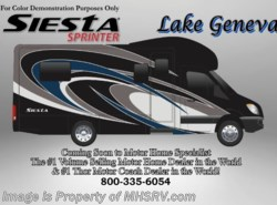 New 2017  Thor Motor Coach Four Winds Siesta Sprinter 24SA Diesel RV for Sale at MHSRV W/Dsl Gen by Thor Motor Coach from Motor Home Specialist in Alvarado, TX