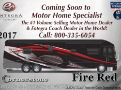 New 2017  Entegra Coach Cornerstone 45B Bath & 1/2 Luxury Coach for Sale at MHSRV.com by Entegra Coach from Motor Home Specialist in Alvarado, TX