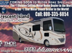 New 2017  Thor Motor Coach Hurricane 34F Coach for Sale at MHSRV W/King Bed by Thor Motor Coach from Motor Home Specialist in Alvarado, TX