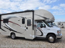 New 2017  Thor Motor Coach Chateau 22E RV for Sale at MHSRV W/3 Cams, Ext TV, 15K A/C by Thor Motor Coach from Motor Home Specialist in Alvarado, TX