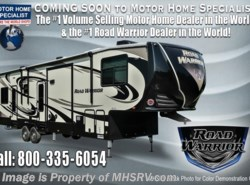 New 2017  Heartland RV Road Warrior RW427 3 A/C, Rear Awning, 4 TV & King Bed by Heartland RV from Motor Home Specialist in Alvarado, TX