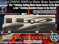 New 2017  Holiday Rambler Vacationer XE 34S Bath & 1/2 RV for Sale at MHSRV W/Sat by Holiday Rambler from Motor Home Specialist in Alvarado, TX