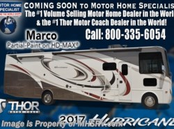 New 2017  Thor Motor Coach Hurricane 35M Bath & 1/2 RV for Sale W/King Bed by Thor Motor Coach from Motor Home Specialist in Alvarado, TX