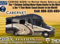 New 2017  Thor Motor Coach Chateau Citation Sprinter 24ST Diesel RV for Sale at MHSRV Theater Seats by Thor Motor Coach from Motor Home Specialist in Alvarado, TX