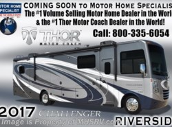 New 2017  Thor Motor Coach Challenger 37KT RV for Sale at MHSRV W/King, Dual Pane by Thor Motor Coach from Motor Home Specialist in Alvarado, TX