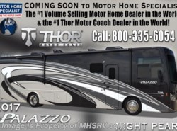 New 2017  Thor Motor Coach Palazzo 36.1 Bath & 1/2 Diesel Pusher RV for Sale @ MHSRV by Thor Motor Coach from Motor Home Specialist in Alvarado, TX