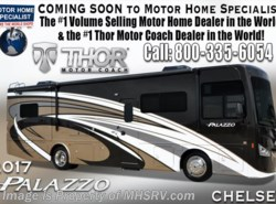 New 2017  Thor Motor Coach Palazzo 36.3 Bath & 1/2 Diesel Pusher RV for Sale King Bed by Thor Motor Coach from Motor Home Specialist in Alvarado, TX
