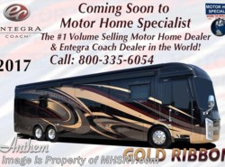 New 2017  Entegra Coach Anthem 44B Bath & 1/2 Luxury RV for Sale @ MHSRV .com by Entegra Coach from Motor Home Specialist in Alvarado, TX