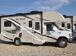 New 2017  Thor Motor Coach Four Winds 22E Ford W/HD-Max, Ext. TV, 15K A/C, Back-Up Cam by Thor Motor Coach from Motor Home Specialist in Alvarado, TX