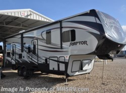 Used 2015  Keystone Raptor 300MP W/2 Slides, Toy Hauler, Bunk Beds by Keystone from Motor Home Specialist in Alvarado, TX